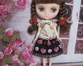 Top and Skirt for Middie Blythe/ Usaggie / Nikki / Odeco