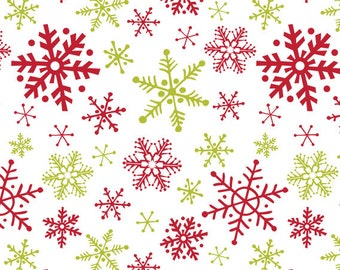 Christmas Snowflakes Tissue Paper . 20 x 30 inches . 12 sheets