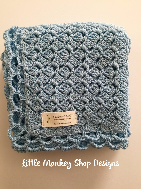 Crochet Pattern Heirloom Baby Blanket Lacy Heirloom Baby