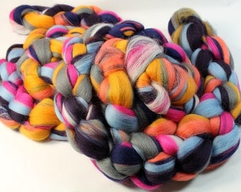Merino -  Custom Blended Wool Top Roving For Spinning & Felting  - Gladrags
