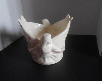 Vintage Angel Candle Tealight Holder Tea Light