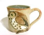 Shino Owl Mug/Tea Cup
