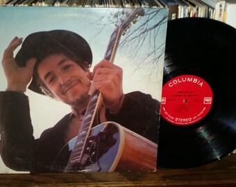 Bob Dylan Nashville Skyline Vintage Vinyl Record