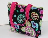 Rivoli Insulated Lunch Tote- Bag- Zipper Lunch Bag Water and Mildew Resistant Interior