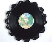 Randy Newman Vinyl Record Tray / Platter Vintage LP Album 1977 (Little Criminals) Colorful Burbank Tree Lined Street Label