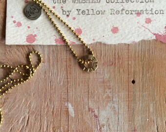 x x x s the washed collection on raw brass