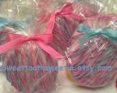 Gender Reveal Pink and Blue Chocolate Covered Oreos Cookies Baby Shower Favors Baby's 1st Birthday Party Baptism Cookies Sweet 16 Party