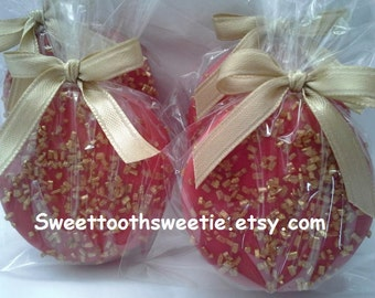 Chinese New Year Red And Gold Chocolate Covered Oreos Wedding Favors Sweet 16 Party