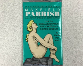 Limited Edition Maxfield Parrish Art Card UNOPENED Pack Containing 10 Art Cards