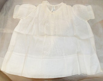 Lot of 4 Infant Baby Girl Dresses Slips Hand Made