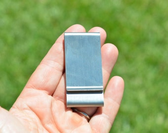 1 Stainless Steel Money Clip F529