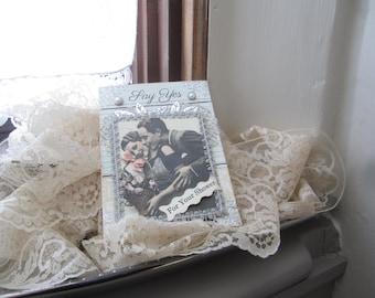 Handmade Wedding Shower Card