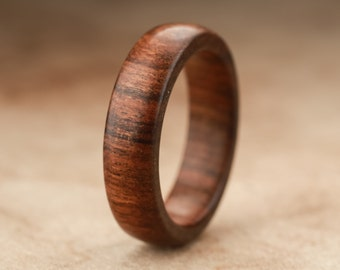 Size 8.75 - Tamboti Wood Ring No. 253