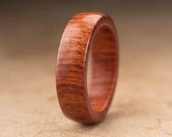 Size 6.75 - Mopani Wood Ring No. 115