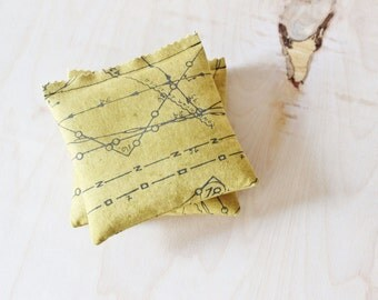 Mustard Lavender Bags, Scented Drawer Sachets, Math Nerd College Care Package, Unique Teacher Gift