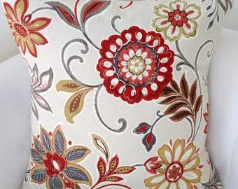 Fall Pillow Cover,  Spice Orange Pillow, Throw Pillow, Cushion, Accent Pillow, Decorative Pillow
