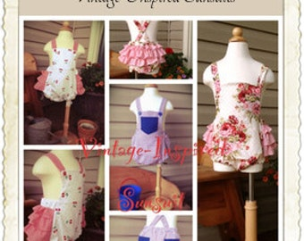Vintage-Inspired Sunsuit ePattern