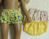 Three 3 pairs of Underwear Panties Bloomers for Sasha Doll