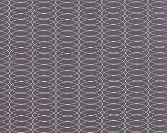 SALE For You by Zen Chic for Moda Circulating in Graphite  1/2 yard YES!!! I combine shipping, use flat rate envelopes and refund