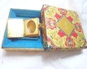1971 Vintage Avon Solid Perfume Book Compact in Original Box