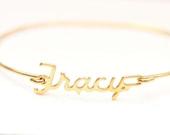 Vintage Name Bracelet - Tracy