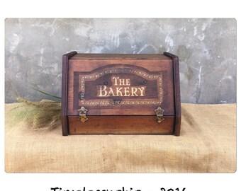 Breadbox - Bread Box - Wooden Bread Box - Wood Bread Box - Farmhouse Kitchen - Kitchen Decor - CHIC