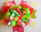 Listing for Mindy -Festive Hair Bow-