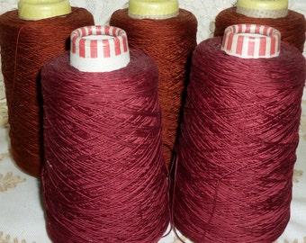 Vintage 8 Ply Silk Cord