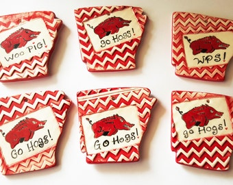 Arkansas Clay Ornament   Arkansas State Shape   Christmas Ornaments   Ornaments   Arkansas Ornament   MADE TO ORDER   Textured Clay Ornament