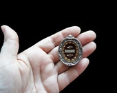 19th Century Silver Reliquary Antique French