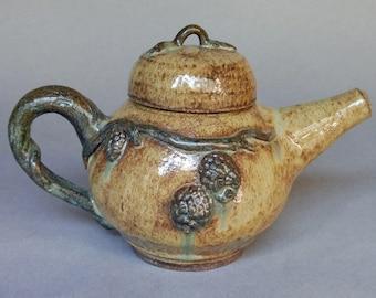 Handmade Pine Cone Teapot
