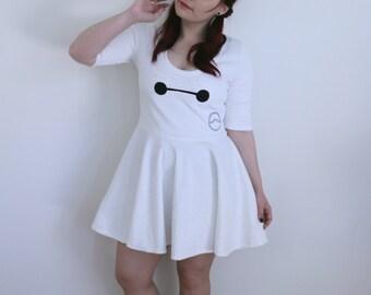 Baymax Skater Dress