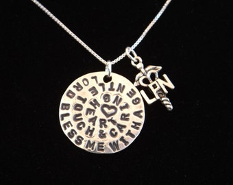 LPN Prayer Necklace, Nurse's Prayer Necklace, LPN graduation gift, LPN charm, Nurse gift, Nurse graduation gift, Licensed Practical Nurse