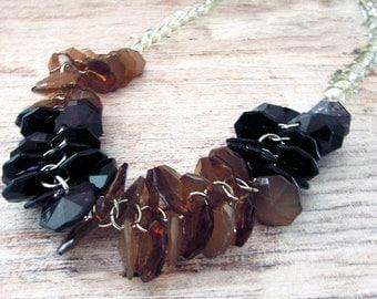 Beaded Boho Necklace Set - Beaded Bohemian Statement Necklace  - Statement Boho Necklace - Statement Boho Necklace Set - Jewelry Set - Boho