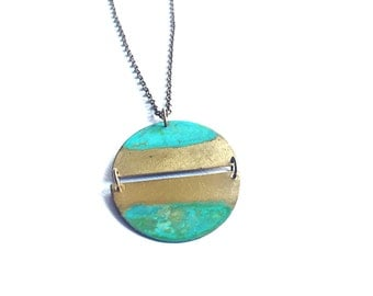 Rising Tide Full Moon Necklace