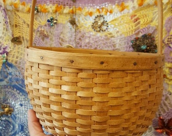Vintage Northern Maine Native Made Basket from Rustysecrets