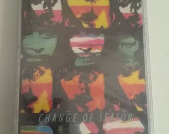 Hall and Oates Vintage Cassette Sealed Change of Season 90's
