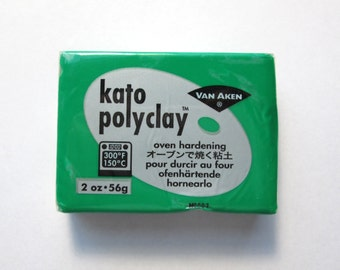 Polymer Clay, Kato Polyclay, Making Mold Green 2 oz. Bar, Modeling Clay, Polymer Clay