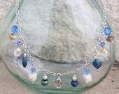 Treasure Keeper Necklace - Denim Chic