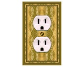 0751b  African Bkgd  Mrs Butler Switchplate  (Choose size/price from dropdown)