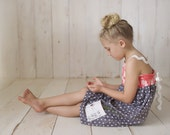 Girl's Dress  - Handmade Chidren's Clothing for Girls - made in Maui, Hawaii USA