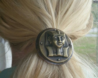 Walk Like an Egyptian Copper, Brass and Fine Silver Hair Jewelry