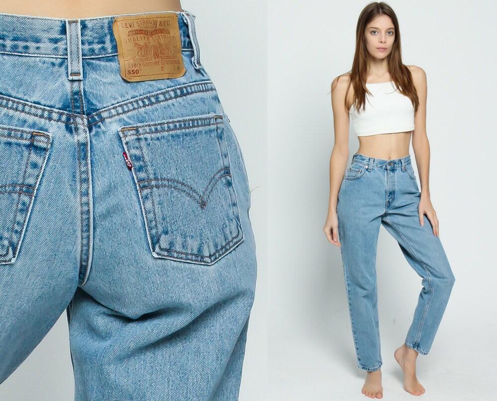 levis mom jeans high waist jeans 80s jeans straight leg levi. Black Bedroom Furniture Sets. Home Design Ideas
