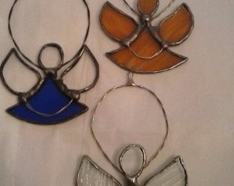 Stained Glass Christmas Ornaments-3