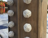Nautical Decor - My Cape Cod Drawer Pulls - Set of 8 knotty drawer pulls and doorknobs in cotton