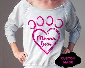 Maternity Clothes Mama Bear Sweatshirt Maternity Shirt Maternity Sweatshirt Maternity Shirts Funny