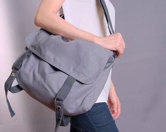 Sale20%OFF-Ready To Ship-Mole Gray Messenger/school/purse/handbags/casual/totes/messenger/shoulder/bags/for her/for him/women/men-080
