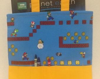 50% OFF SALE - Nintendo/Super Mario Crayon Tote