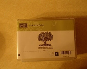 Stampin up Look Up Father Stamp Set