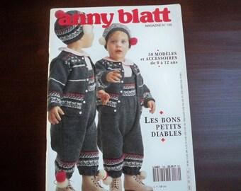 Knitting Supplies Baby Children Pattern Booklet Anny Blatt No 139